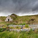 Old Boat and Ice House, Keiss Harbour, Caithness, Scotland by Iain MacLean