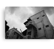 Ominous Clouds Canvas Print