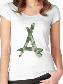 Kid Ink Alumni Logo Women's Fitted Scoop T-Shirt