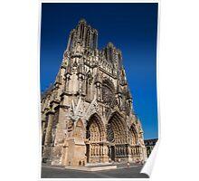 Cathedrale Notre Dame de Reims Poster