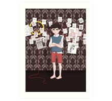 The Case of the Missing Shoe Art Print