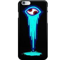 Crazy Eye - Cyan iPhone Case/Skin