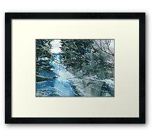 Floods Framed Print