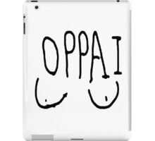 ONE PUNCH MAN OPPAI WEBCOMIC VERSION iPad Case/Skin