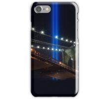 NYC Tribute in Light WTC 9/11 iPhone Case/Skin