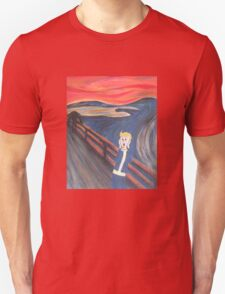 The Scream - Vault Boy Unisex T-Shirt