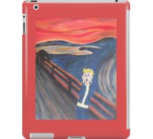The Scream - Vault Boy iPad Case/Skin