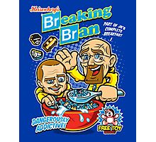Breaking Bran Photographic Print