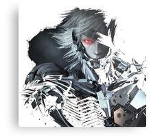 Metal Gear Raiden Metal Print
