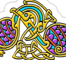 Celtic Illumination - Bird Knot Sticker