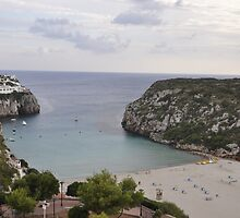 Picture of harbour in menorca by roggcar