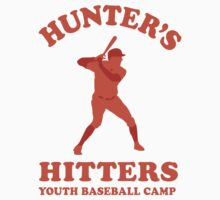 Hunter's Hitters (Orange Version) Kids Tee