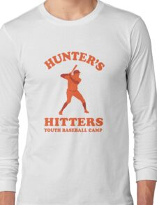 Hunter's Hitters (Orange Version) Long Sleeve T-Shirt