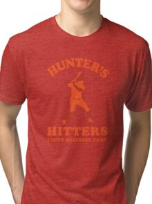Hunter's Hitters (Orange Version) Tri-blend T-Shirt