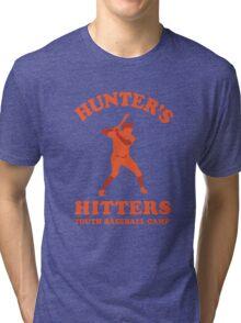 Hunter's Hitters (Orange Version) Tri-blend T-Shirt