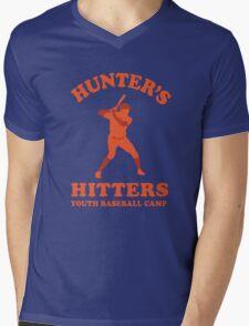 Hunter's Hitters (Orange Version) Mens V-Neck T-Shirt