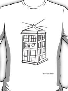 Tardis Doodle T-Shirt