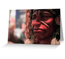 Geronimo Greeting Card