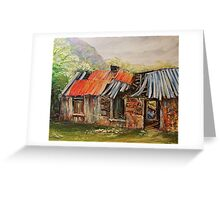 Abandoned in Black Valley Greeting Card