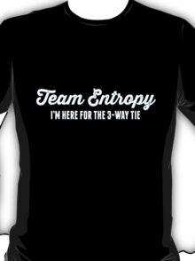 Team Entropy (Light Text) T-Shirt