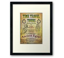 Time Travel Tours Framed Print