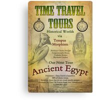 Time Travel Tours Canvas Print