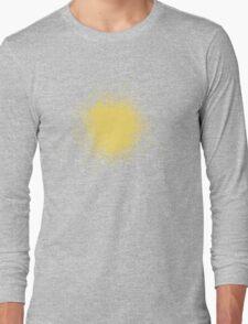 Orange Paint Splotch Long Sleeve T-Shirt