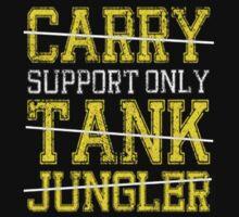 League Of Legends : Support Only shirt T-Shirt