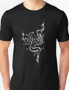 Awesome Razer Black/Silver Logo Tee Unisex T-Shirt