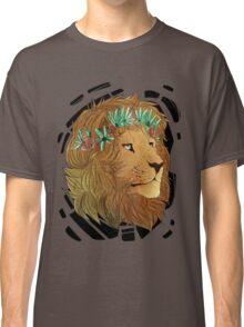 Flower Crown Lion Classic T-Shirt