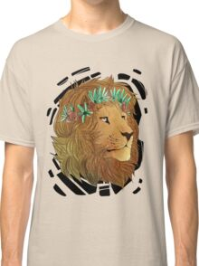 Flower Crown Lion Classic T-Shirt
