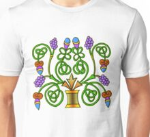 Celtic Illumination - Grape Vine Unisex T-Shirt