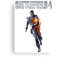 Battlefield 4 Solider  Canvas Print