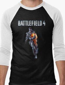 Battlefield 4 Solider  Men's Baseball ¾ T-Shirt