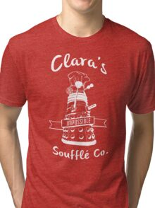 Clara's Impossible Soufflé Company (White) Tri-blend T-Shirt
