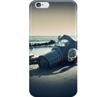 Gas Mask End of the World iPhone Case/Skin
