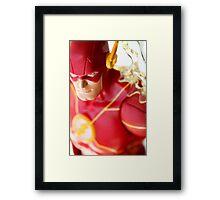 The fastest man alive Framed Print