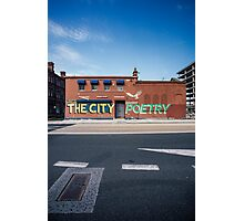 The City, Graffiti Photographic Print