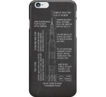 Saturn V Blueprint iPhone Case/Skin