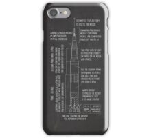 Saturn V Blueprint iPhone Case/Skin