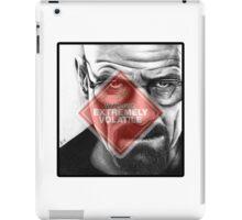 Walter White - Extremely Volatile  iPad Case/Skin