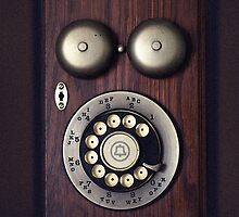 Antique Rotary Phone by DangRabbit
