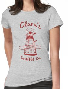 Clara's Impossible Soufflé Company (Red) Womens Fitted T-Shirt