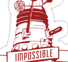 Clara's Impossible Soufflé Company (Red) Sticker