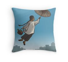 我要飛上青天 | Singapura Images Throw Pillow