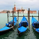 Three gondolas by Rob Chiarolli
