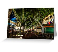 Faneuil Hall,  Boston. Greeting Card