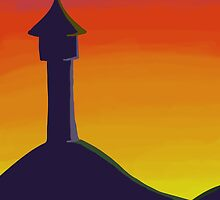 Tower at Sunset by Kileigh Gallagher