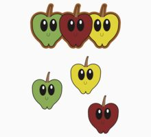 Super Apples - Stickers by NKonyk