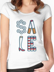 SALE Women's Fitted Scoop T-Shirt